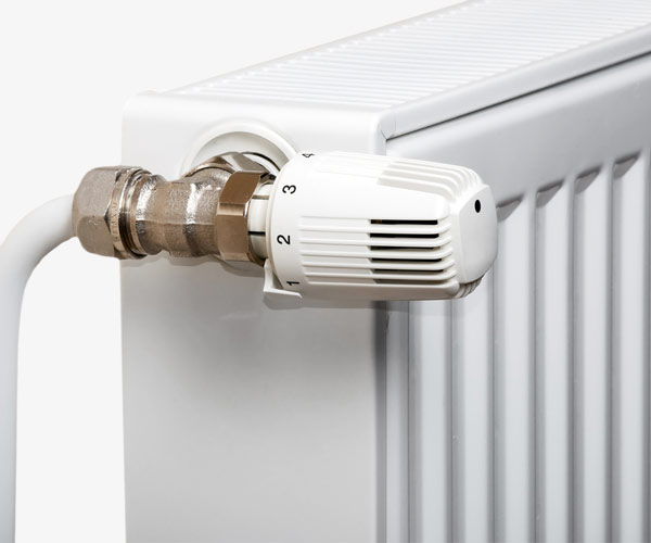 White Thermostatic Radiator Valve